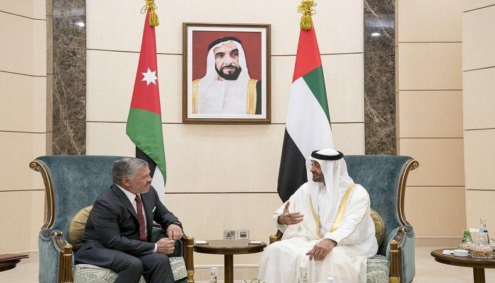 ولى عهد أبو ظبى وعاهل الأردن يبحثان سبل التعاون بين البلدين مجلة سيدات الأعمال الدولية